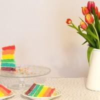 🌈 La recette du gâteau arc-en-ciel 🌈