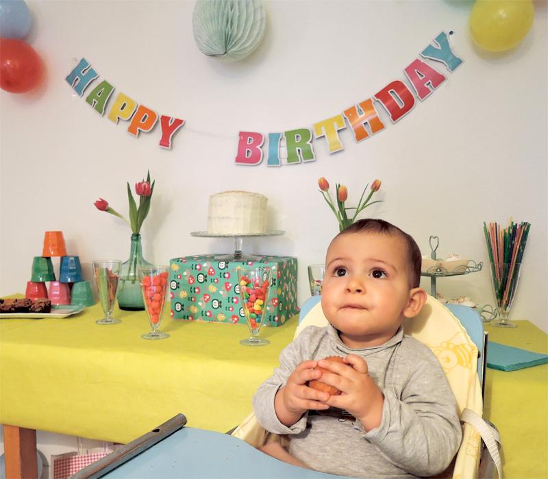 Son premier anniversaire