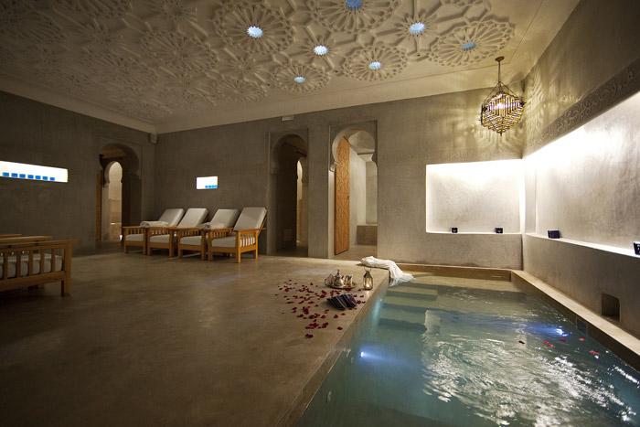 j 39 ai test le hammam le bain bleu marrakech blog voyage. Black Bedroom Furniture Sets. Home Design Ideas