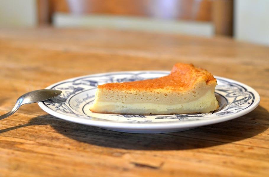 Recette du gâteau magique à la confiture de lait