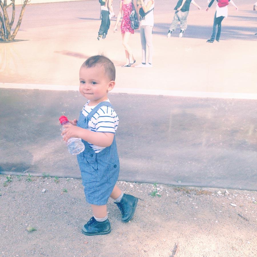 Noah au parc