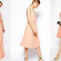 Une robe corail pour ma tenue de demoiselle d'honneur