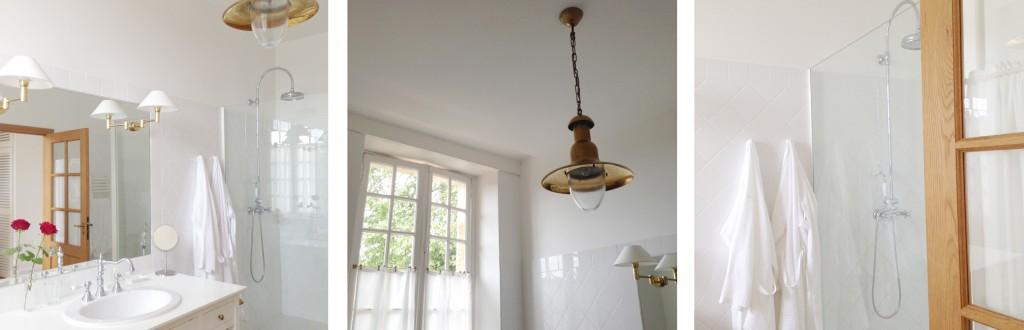 La Bastide : la salle de bains