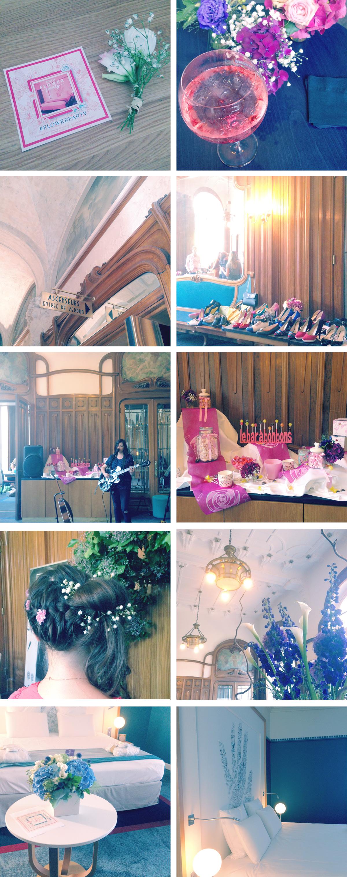 Flower Party à l'hôtel Château Perrache