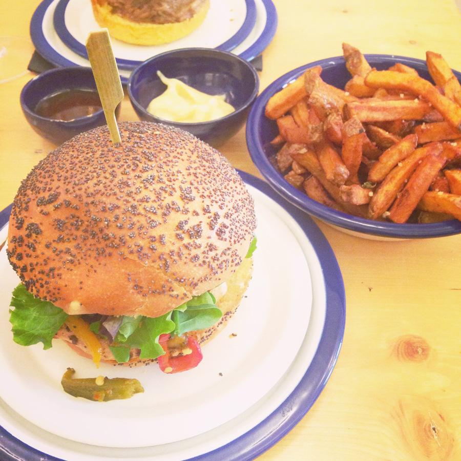 Burger Lyon Les Frangins
