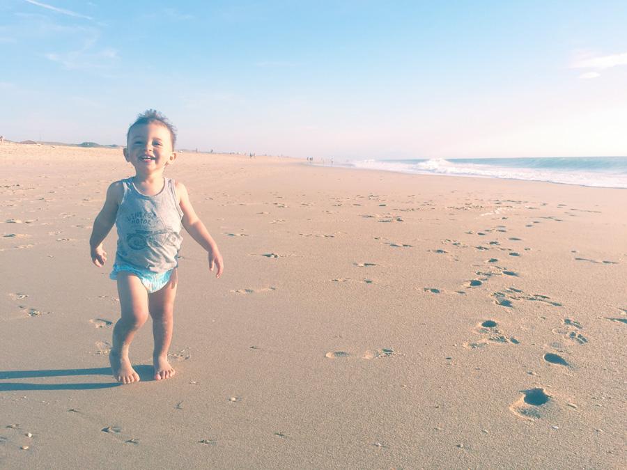 Nos vacances en famille à l'océan