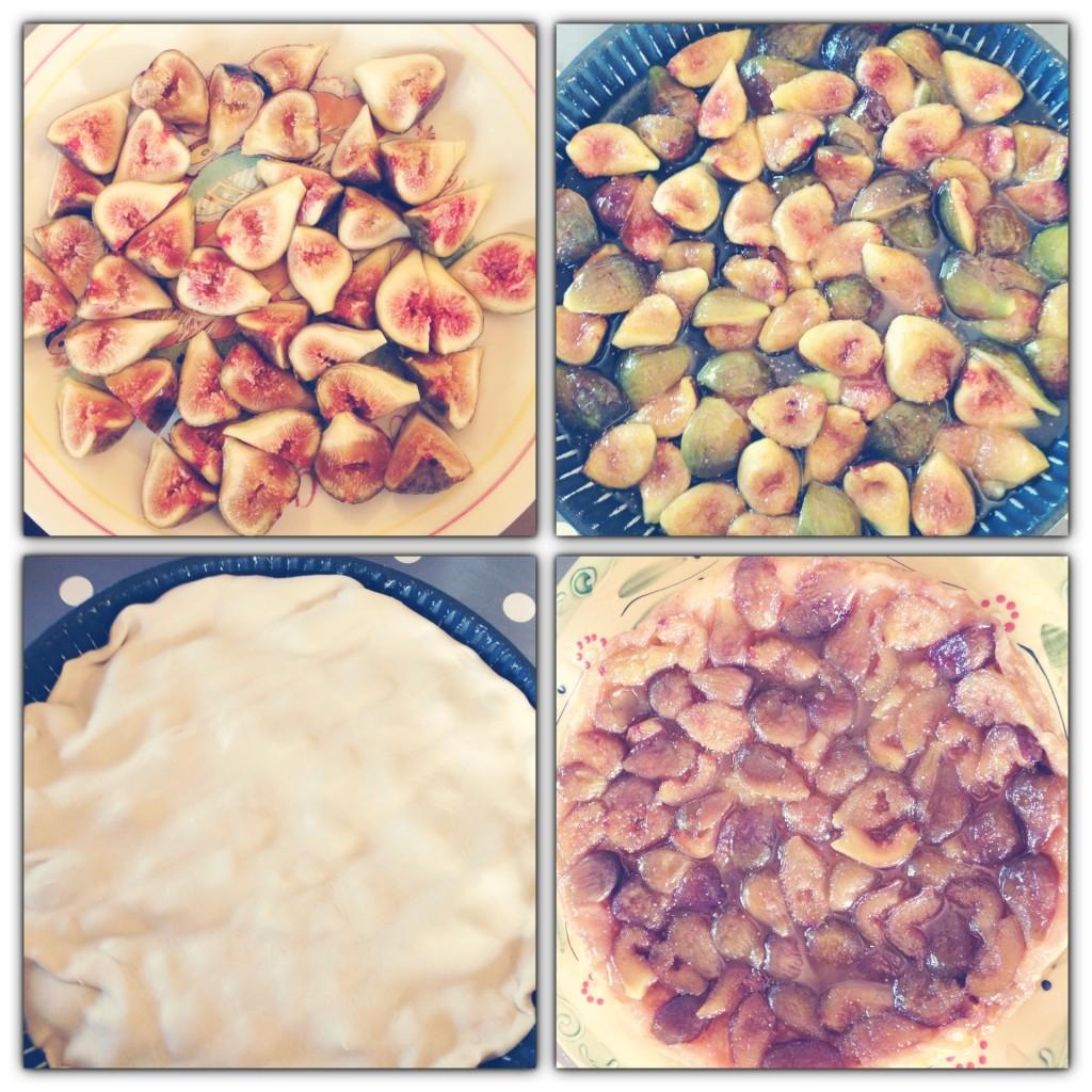 Recette de la tarte tatin aux figues
