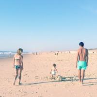 ♡ Nos vacances dans les Landes et Noah qui découvre l'océan ♡