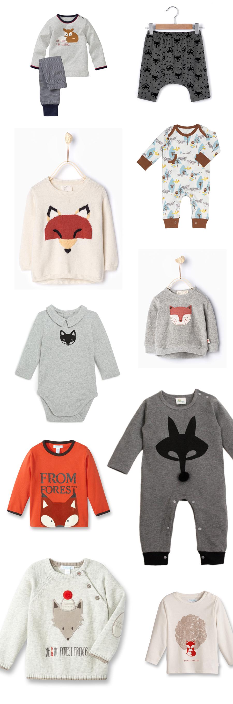 La tendance renard pour les petits : mode et accessoires
