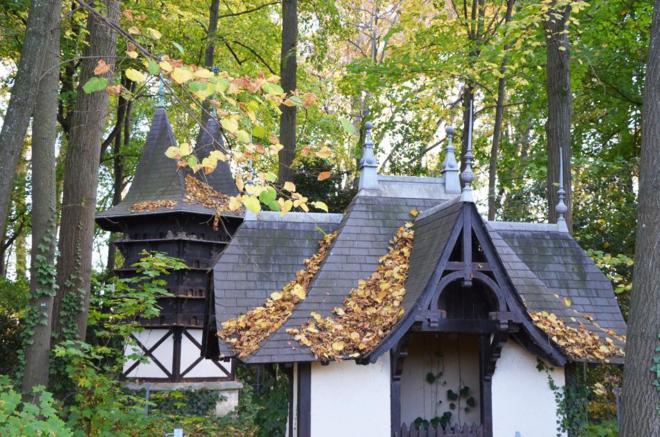 L'automne au parc de la Tête d'Or à Lyon