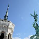 Sur les toits de la basilique Fourvière : visite insolite Lyon