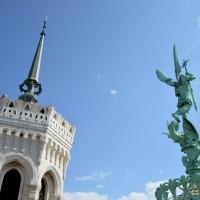 Visite insolite à Lyon : Sur les toits de la basilique Fourvière
