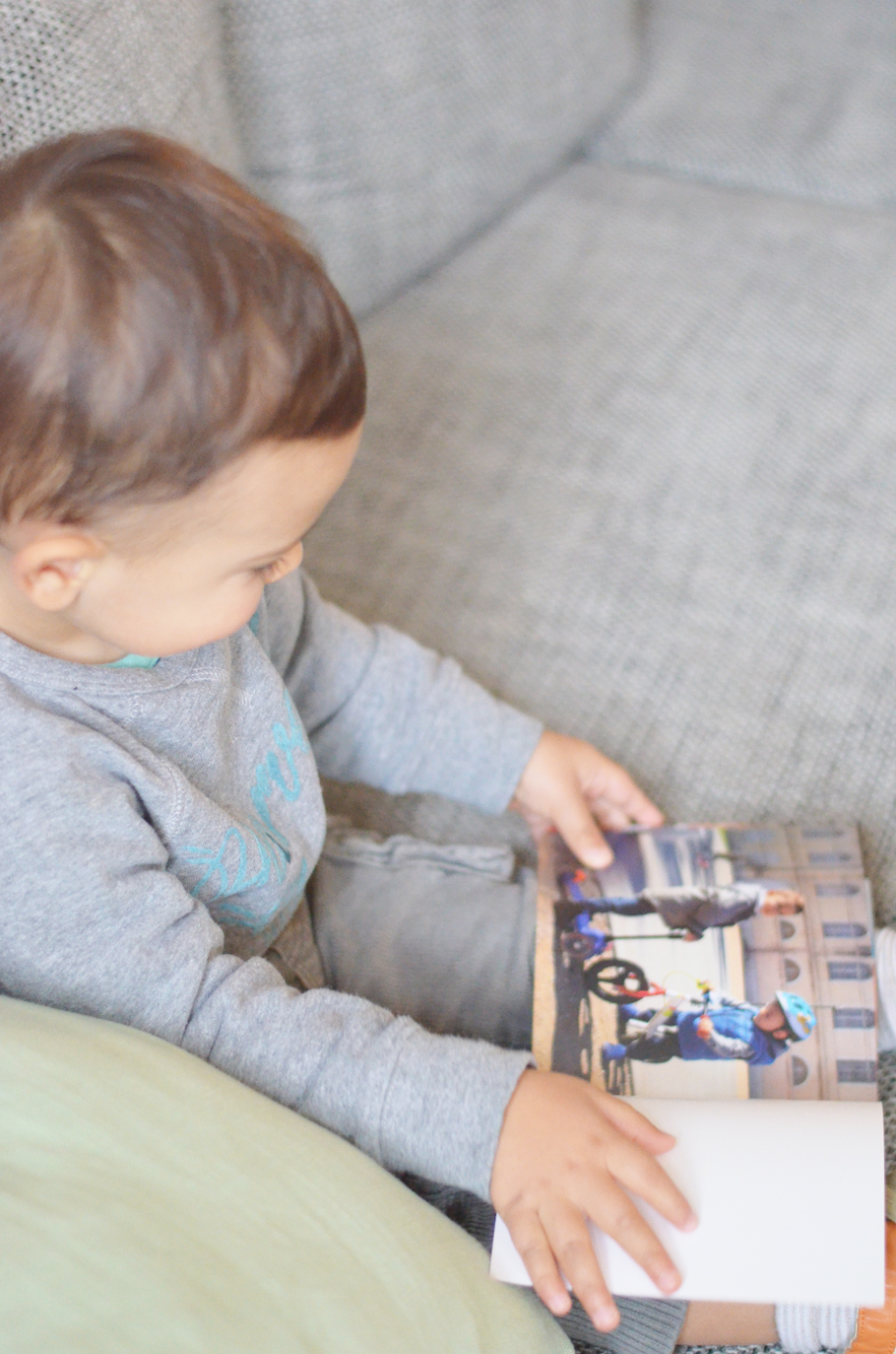 Un livre photos souvenirs pour Noah