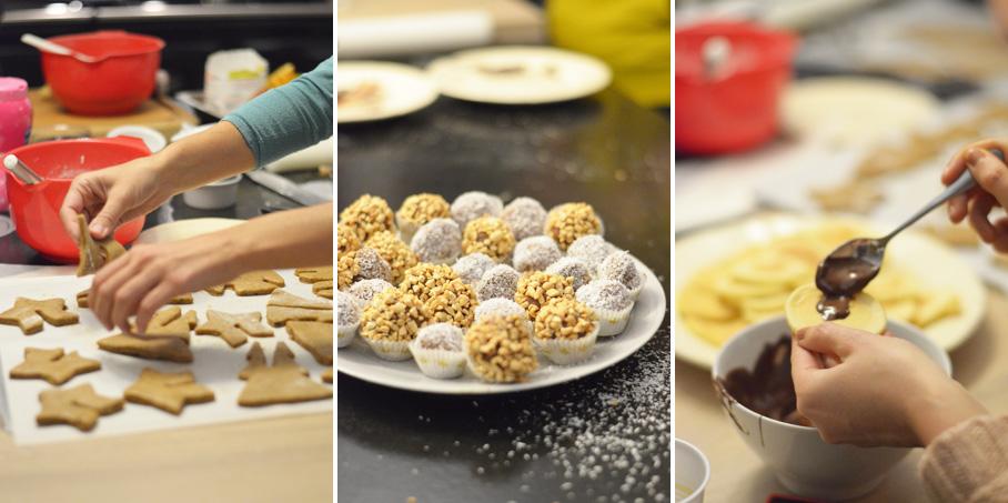 Atelier culinaire Pâtisserie Noël