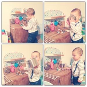 DIY : une cuisine enfant en bois