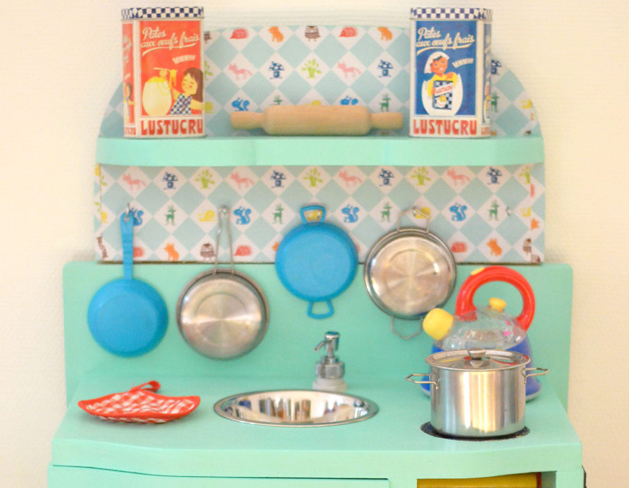 Fabriquer une cuisine enfant