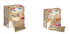 Musli et barres de céréales spécifiques pour l'allaitement
