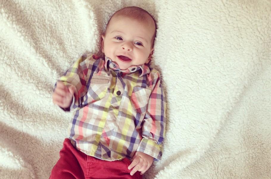 Bébé à 3 mois
