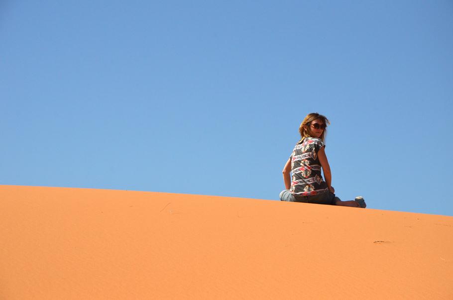 Ma plus belle expérience en 2015, le désert de Merzouga