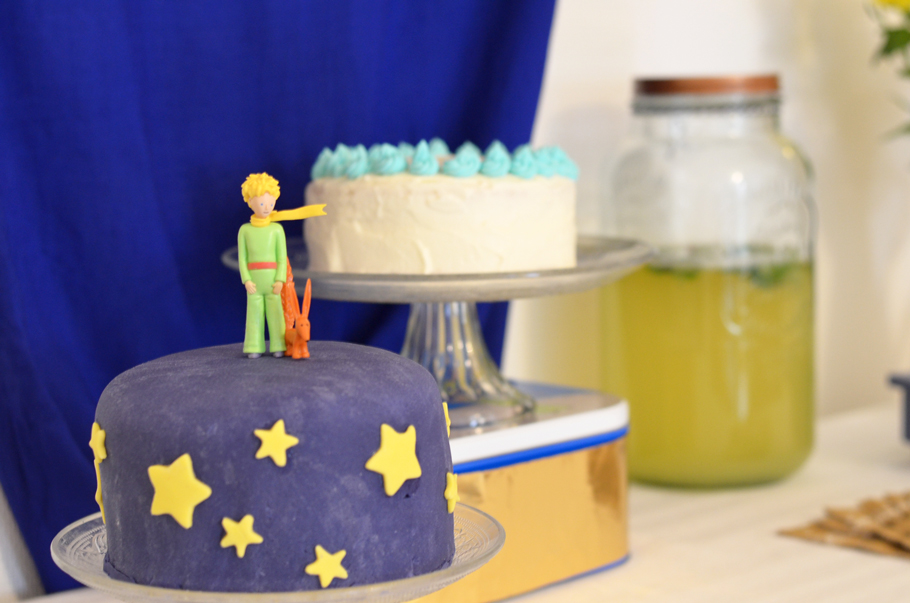 Un anniversaire Petit Prince pour ses 2 ans