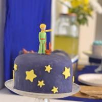 Le gâteau d'anniversaire Le Petit Prince