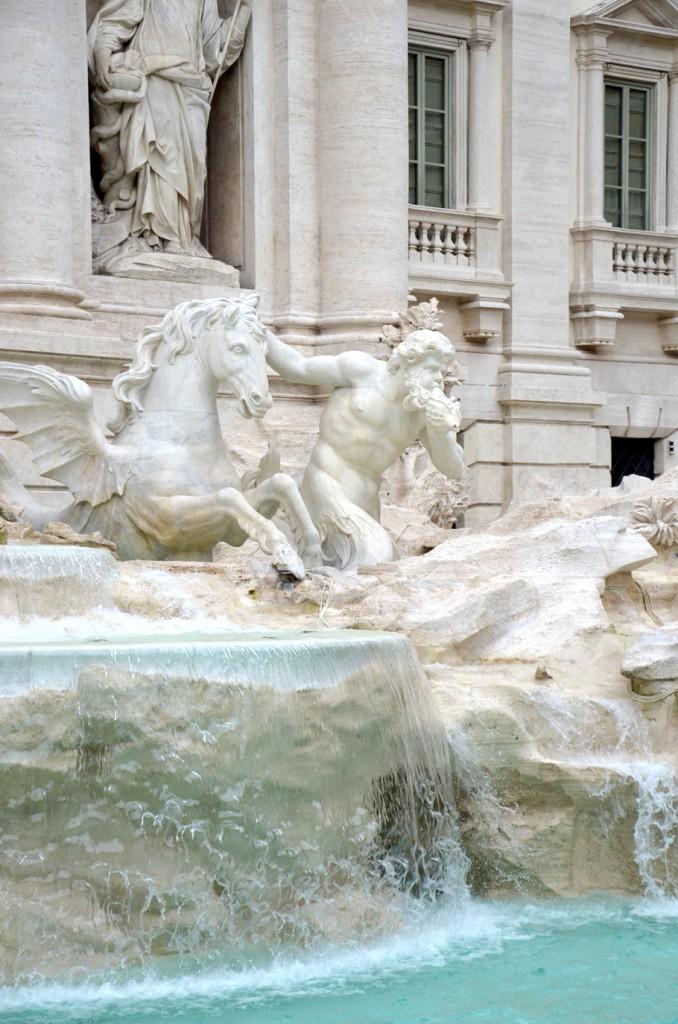 Week-end à Rome en amoureux, la fontaine de Trévi