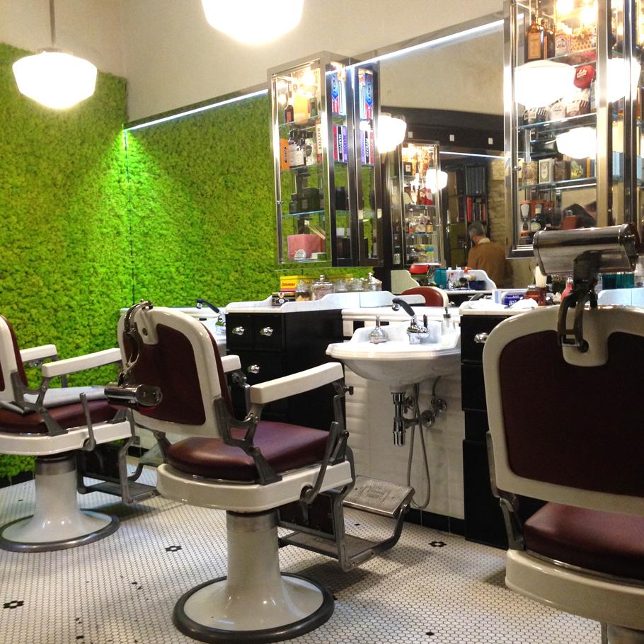 Coiffeur barbier à Rome