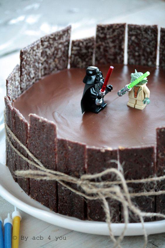 Gâteau anniversaire enfant Star Wars