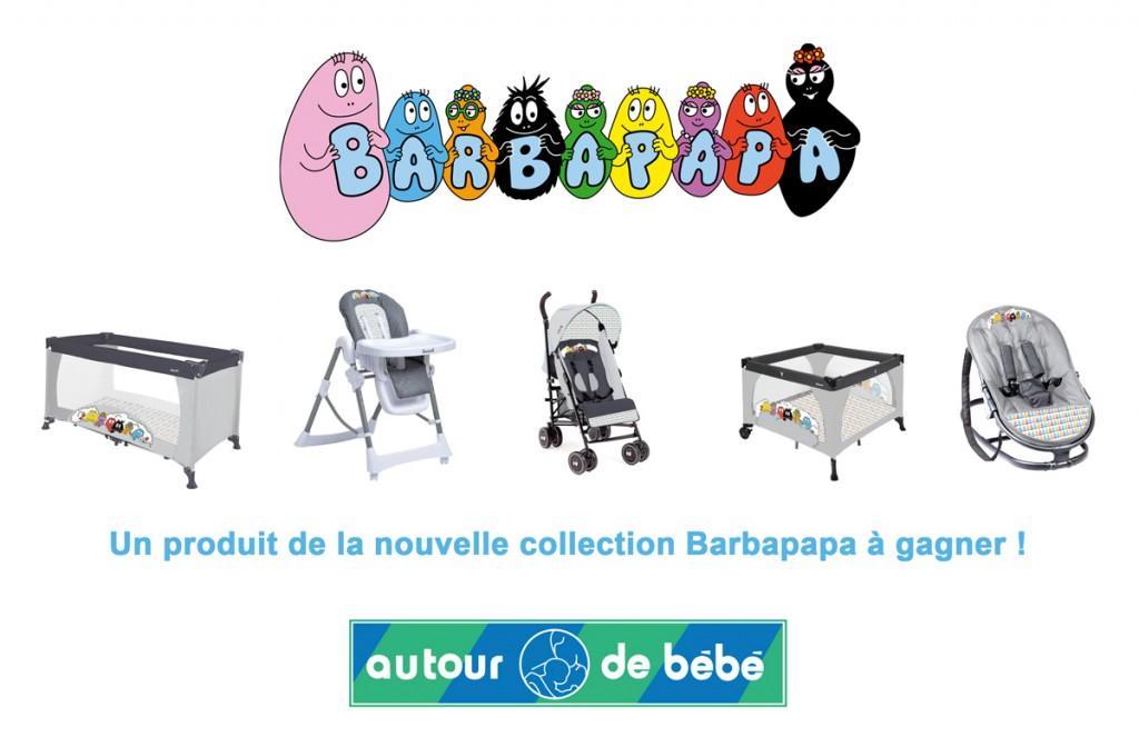 La collection Barbapapa - Concours Autour de bébé