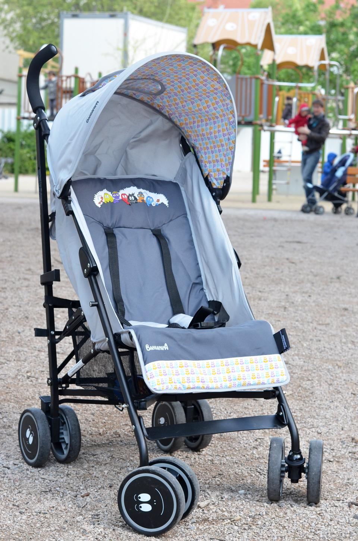 Mon avis sur la poussette canne barbapapa blog maman for Autour de bebe portet