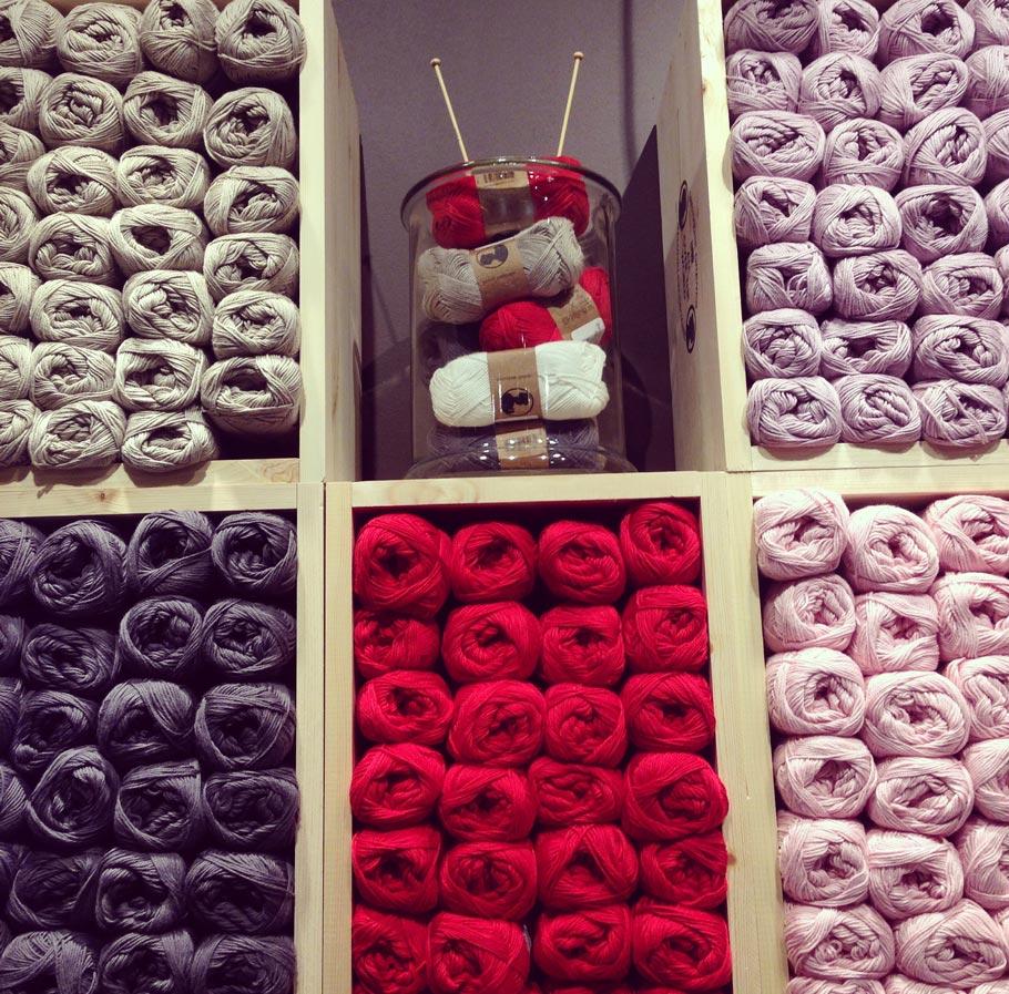 La boutique des Soeurs Grene à Lyon