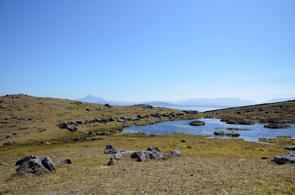 Découverte de Clare Island