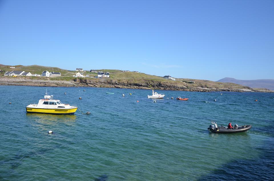 Arrivée à Clare Island