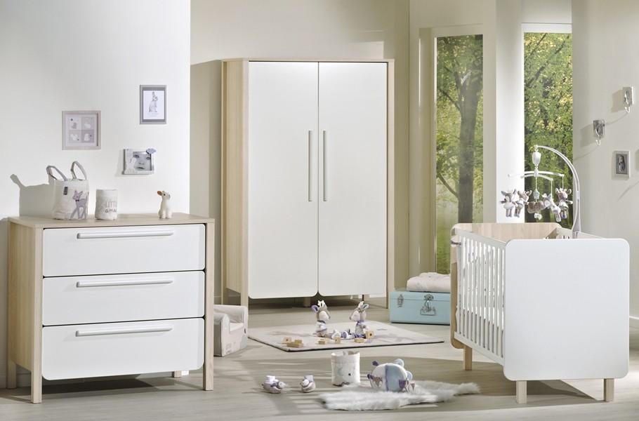 La collection nest de sauthon une chambre b b scandinave - Chambre de bebe complete a petit prix ...