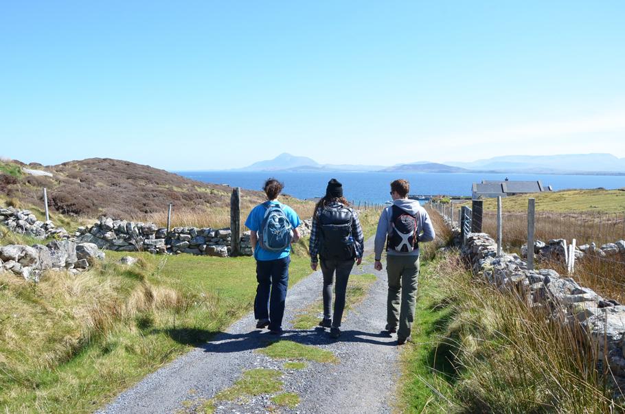 Rando sur Clare Island