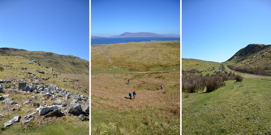 Randonnée sur Clare Island