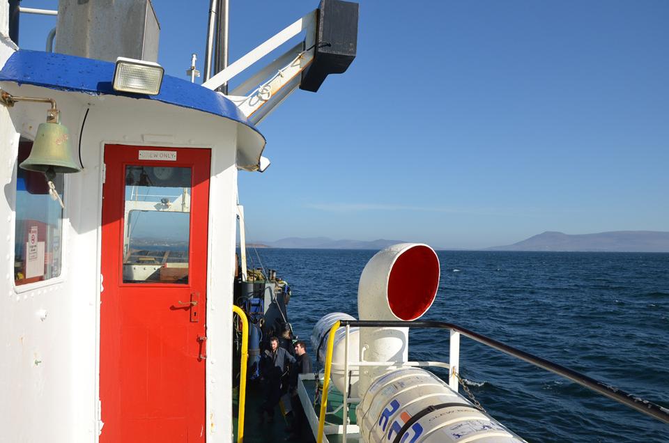 Ferry Clare Island
