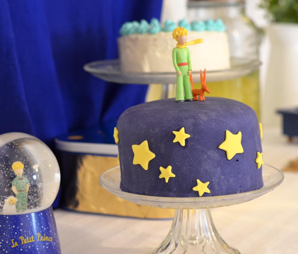 Gâteau anniversaire Petit Prince