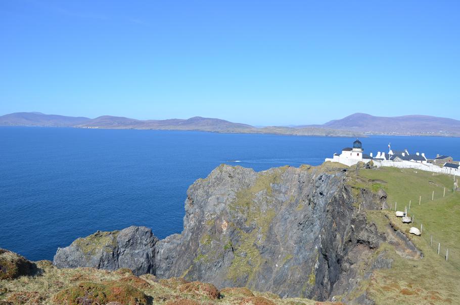 Le phare de Clare Island