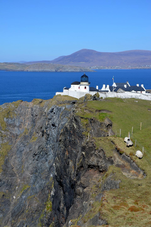 Phare de Clare Island