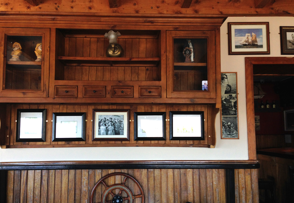 Le seul pub et restaurant de Clare Island