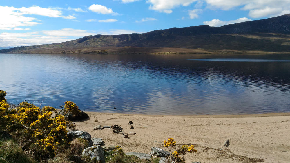 Lac en Irlande