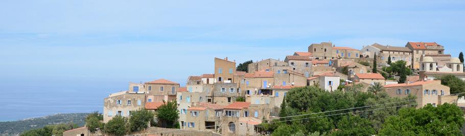 Le village de Pigna en Corse - Balagne