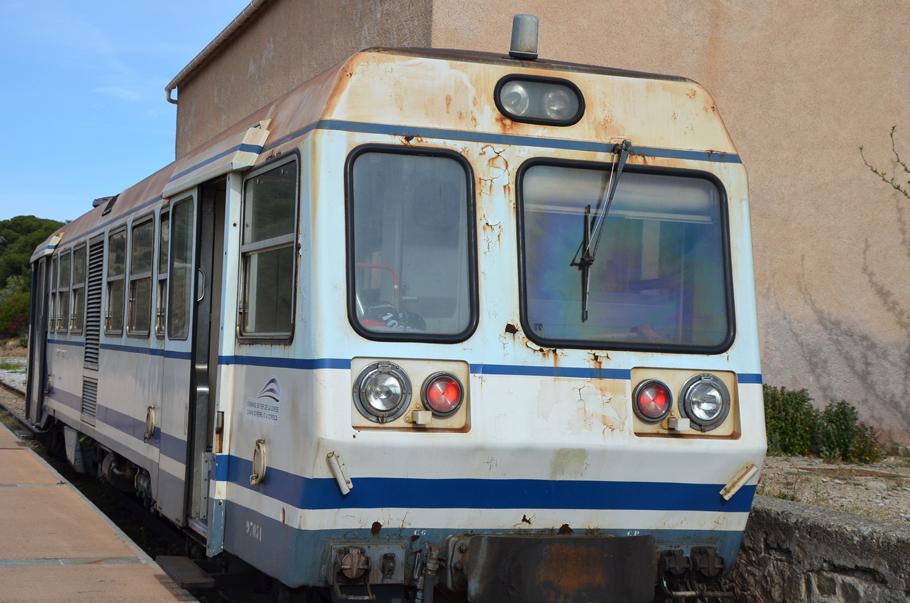 Gare de l'Ile-Rousse : le Trinichellu