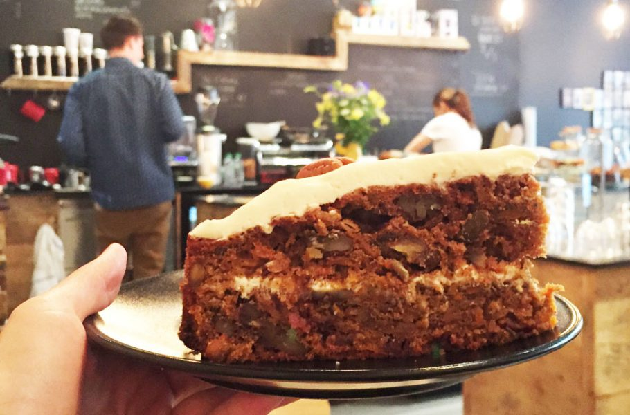 Où manger un carrot cake à Lyon : Slake Coffee House