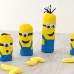DIY Minions en carton