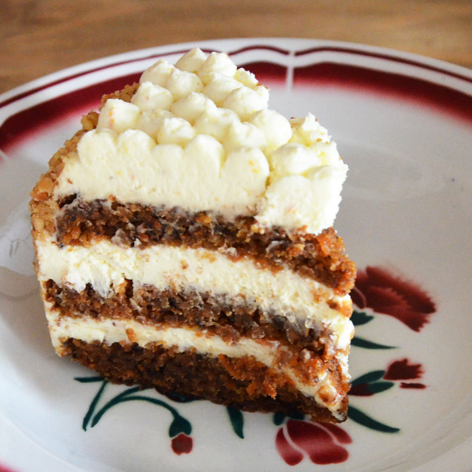 Patisserie Carrot Cake Lyon