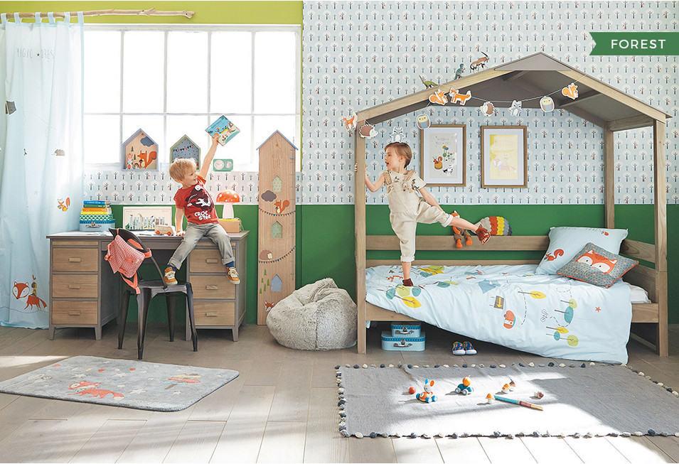 Inspirations déco : Une chambre enfant garçon