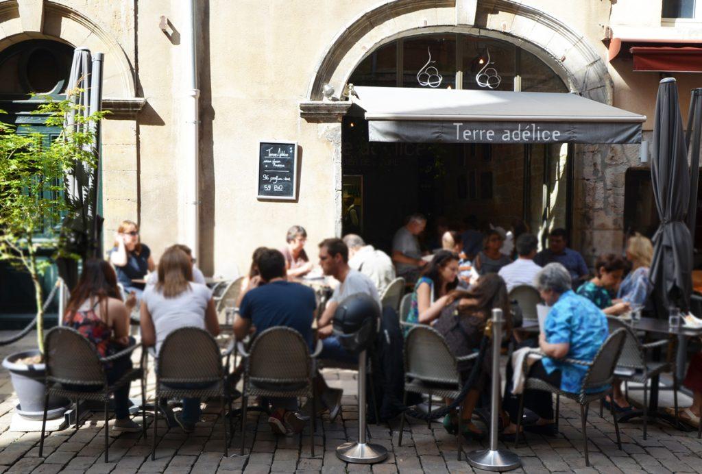 Les meilleures glaces dans le Vieux-Lyon : Terre Adélice