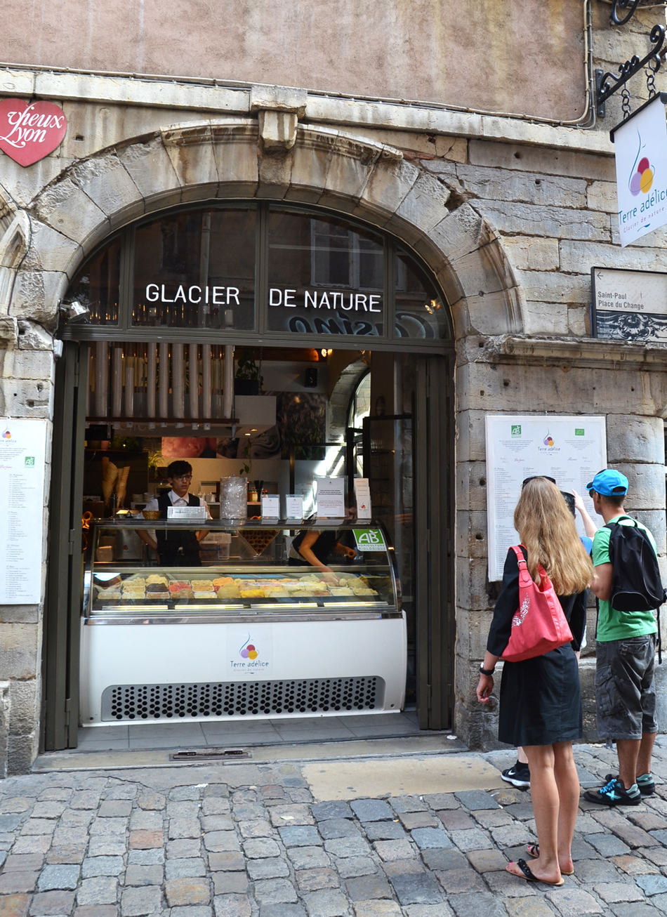Meilleure glace lyon terre adelice